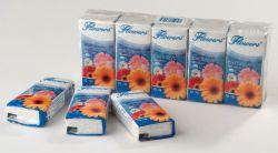 Flowers papírové kapesníky 3-vrstvé 10 x 10 ks