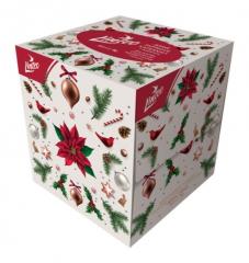 Kosmetické vánoční kapesníčky Linteo - 2-vrstvé / 80 ks