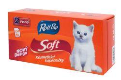 Roll Pap kosmetické papírové kapesníky Soft 2-vrstvé 150 ks