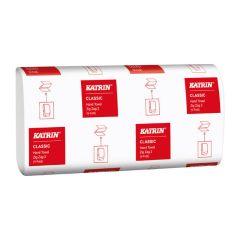 Katrin papírové ručníky skládané Z-Z Classic bílé 1-vrstvé 150 ks