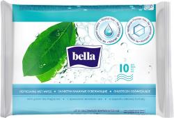 Vlhčené ubrousky Bella - 10 ks