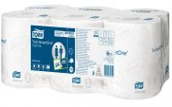 Tork Smart One toaletní papír 2-vrstvý 6ks