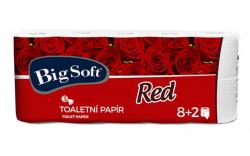 Big Soft Red toaletní papír 3-vrstvý 10ks