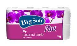 Big Soft Plus toaletní papír 2-vrstvý 16ks