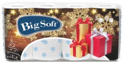 Vánoční toaletní papír Big Soft - 8 rolí / Vánoce