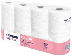 Harmony Professional Premium toaletní papír 100% celulóza 3-vrstvý 8ks
