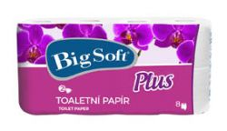 Toaletní papír Big Soft Plus - 8 / bílá