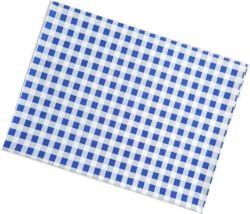Ubrus PVC - 65 x 50 cm / modré káro