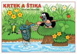 Omalovánky A5 - Krtek a štika