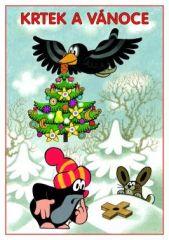 Omalovánky A5 - Krtek a Vánoce