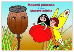 Omalovánky A5 - Maková panenka