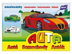 Omalovánky A5 - Auta