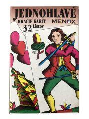 Hrací karty - Mariáš / jednohlavé