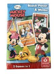 Hrací karty - Černý Petr / Mickey Mouse
