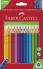 Pastelky Faber Castell Junior TRIANGULAR - 30 barev