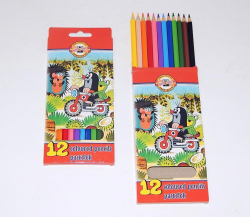 Pastelky 3652/12 - Krtek / 12 ks