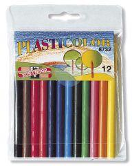 Pastelky Plasticolor - 12 barev