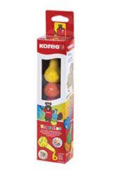 Voskové pastelky Kores Crayonitos - 6 barev