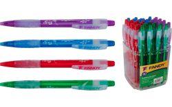 Kuličkové pero Flowers - barevný mix