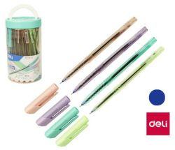 Kuličkové pero DELI Arrow - pastelový mix