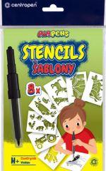 Šablony pro foukací fixy Centropen 9996 - H / domácí zvířata