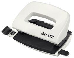 Leitz NeXXt 5060 mini kancelářský děrovač perleťově bílá