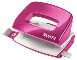 Leitz NeXXt 5060 mini kancelářský děrovač metalická růžová