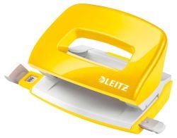 Kancelářský děrovač 5060 mini - metalická žlutá
