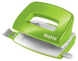 Kancelářský děrovač 5060 mini - metalická zelená