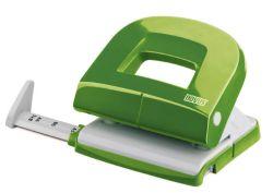 Kancelářký děrovač Novus E 216 fresh - zelená