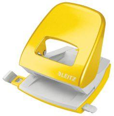 Kancelářský děrovač 5008 - metalická žlutá