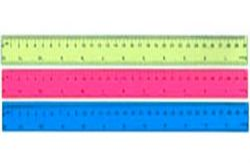 Pravítko barevné - 30 cm / mix barev