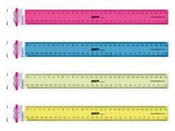 MFP 338080 pravítko mix barev 30 cm