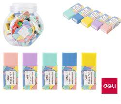 DELI pryž Macaron barevný mix E330535