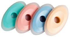 Pryž Deleter Rainbow pro gumovací pera - barevný mix