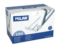 Křídy školní Milan - bílé / 100 ks