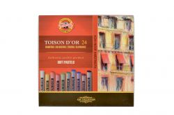 Křídy prašné Toison D´or - 24 barev