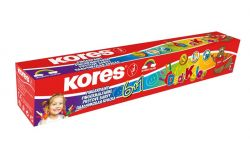 Prstové barvy Kores Dedi Kolor - 6 + 1 / kelímek 30 ml