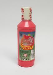Tekuté temperové barvy JOVI v lahvi - 500 ml / růžová