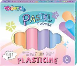 Modelovací hmota - Pastel / 6 barev