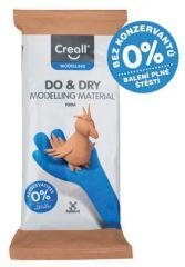 Modelovací samotvrdnoucí hmota Creall Do&Dry hnědá / hypoalergenní / 500 g