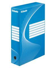 Box archivní A4 - hřbet 8 cm / modrá / 128411