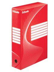 Box archivní A4 - hřbet 8 cm / červená / 128412