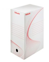 Box archivní A4 - hřbet 15 cm / bílá / 128602