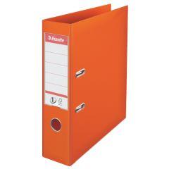 Esselte pákový pořadač A4 celoplastový 7,5 cm oranžová