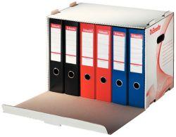 Esselte archivní kontejner na pákové pořadače bílý