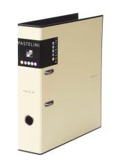 Pořadač A4 pákový PASTELINI - hřbet 7 cm / žlutá / 7-283