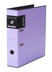 Pořadač A4 pákový PASTELINI - hřbet 7 cm / fialová / 7-284
