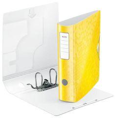 Leitz pořadač A4 pákový celoplastový 180° Active WOW 7,5 cm žlutá