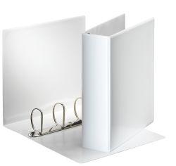 Esselte pořadač A4 kroužkový prezentační 8,6 cm 4 - kroužek bílá
